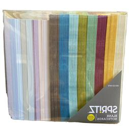 Spritz Blank Notecards 200 Count 8 Colors Included NEW NWT