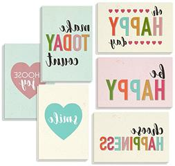 Encouragement Greeting Cards - 36 Pack All Occasion Bulk Box