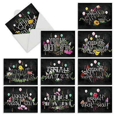 m2358nyg new year chalk and roses 10
